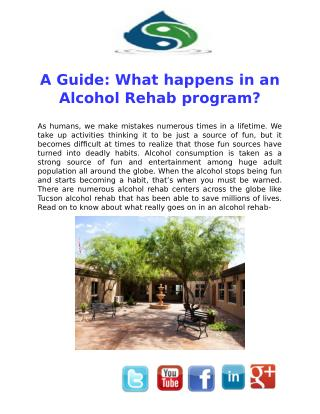 A Guide: What happens in an Alcohol Rehab program?
