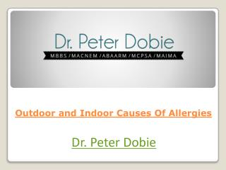 Outdoor and Indoor Causes Of Allergies
