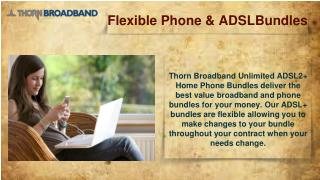Thorn Broadband NBN™ Bundles