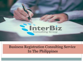 Get Business Registration Consulting Service in the Philippines