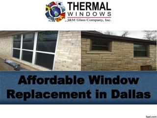 Affordable Window Replacement in Dallas