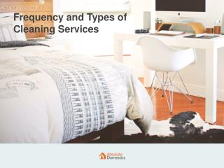 Kinds of Cleaning Services We Offer   Absolute Domestics