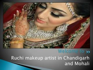 Bridal make up artist in mohali and chandigarh