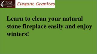 Natural Stone Fireplaces Exporters
