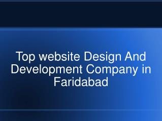 Website Designing Faridabad
