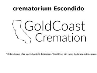 Escondido crematorium