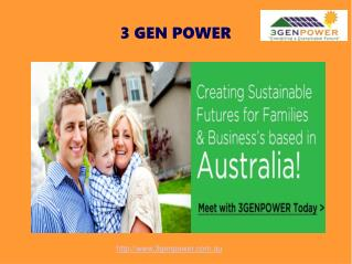 Best Solar Panel Installation in Australia - 3Gen Power