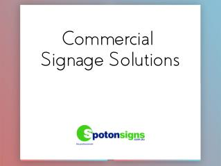 Commercial Signage Solutions