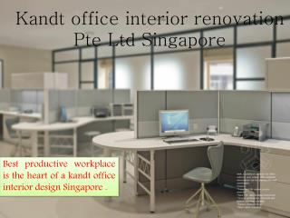 Office Interior Renovation Singapore |Commercial Renovation Singapore