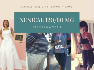 Xenical 120/60 mg Weight Loss Pills