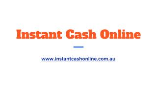 Instant Cash Loans No Credit Check