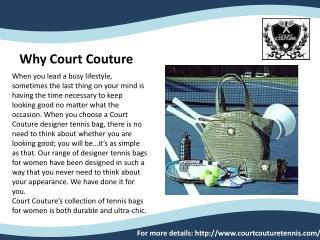 Tennis apparel
