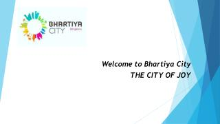 Bhartiya City - Smart City in Bangalore