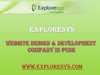 Website design & development company in pune-Exploresys