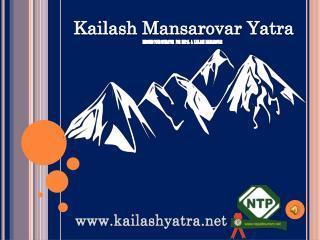 Kailash Mansarovar Yatra Package 2017