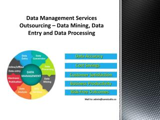 Data Management Services Outsourcing – Data Mining, Data Entry and Data Processing
