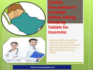 Buy UK Sleeping Pills & Tablets Work Well for Treating Insomnia