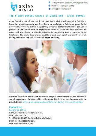 Best Dentist in East Delhi