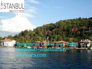 Bosphorus cruise day trips (Istanbul) istanbuldaily-citytours.com
