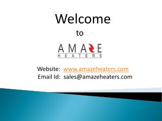 Shop for Best Energy Efficient Wall Mounted Panel Heaters at Lowest Prices Only at Amaze Heaters