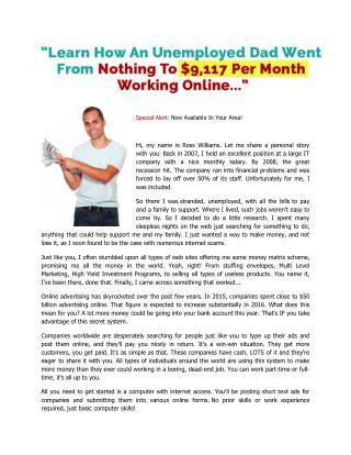 Online legit job - Earn easily $9,117 Per Month
