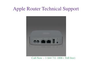 Apple Router Customer Support Helpline Number