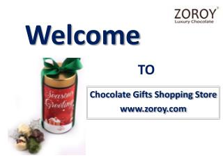Buy Dark Chocolate Gift Box in Christmas & New Year