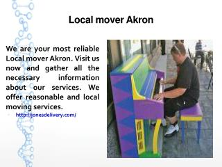 Local mover Akron