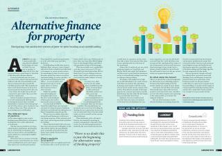 Alternative finance for property