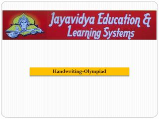 Handwriting-Olympiad