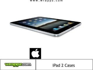 Personalised iPad 2 Cases by Wrappz.com