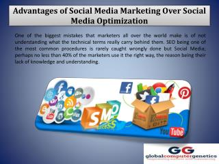 Advantages of Social Media Marketing Over Social Media Optimization