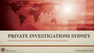 Private Investigations Sydney