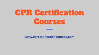 CPR Certification for Groups