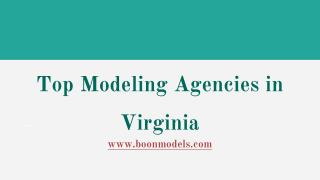 Top Modeling Agencies in Virginia