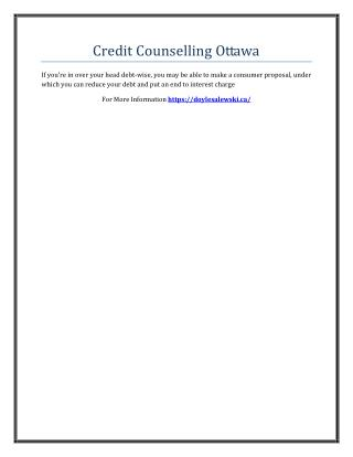 Credit Counselling Services Ottawa.pdf