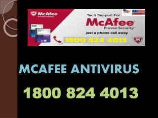 Get Online Mcafee Antivirus Technical Support Phone Number 1800 824 4013