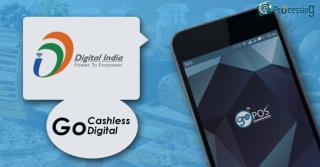 Go cashless With Go POS App