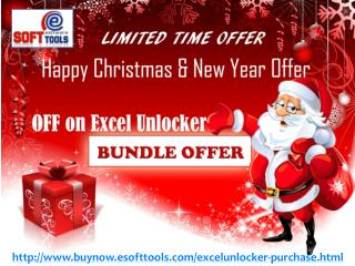 Happy Christmas & New Year OFFER On eSoftTools Excel Password Recovery