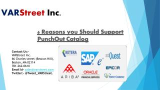 6 Reasons you Should Support PunchOut Catalog