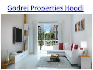 Godrej Properties Hoodi luxurious Apartments Launch in Hoodi Bangalore