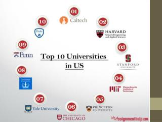 Top 10 universities in usa for 2015 16
