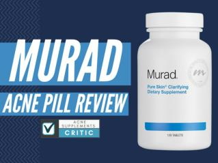 Murad Acne Pill Review | Does Murad Work?