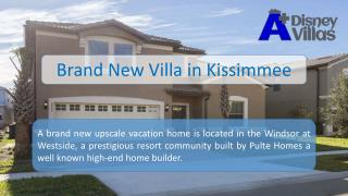 Brand New Vacation Villa in Kissimmee, Florida