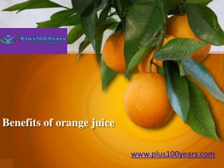 Amazing Health Benefits of Orange juice