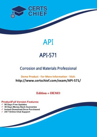 API-571 Exam Questions Answers