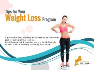 Tips on Weight Loss Programs