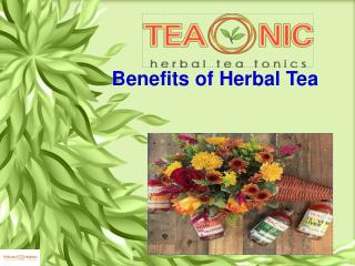 Benefits of Herbal Tea
