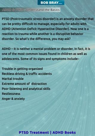 ADHD & PTSD – Understand the Basics