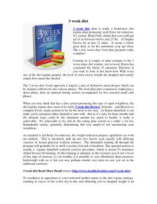 http://www.healthybooklet.com/3-week-diet/